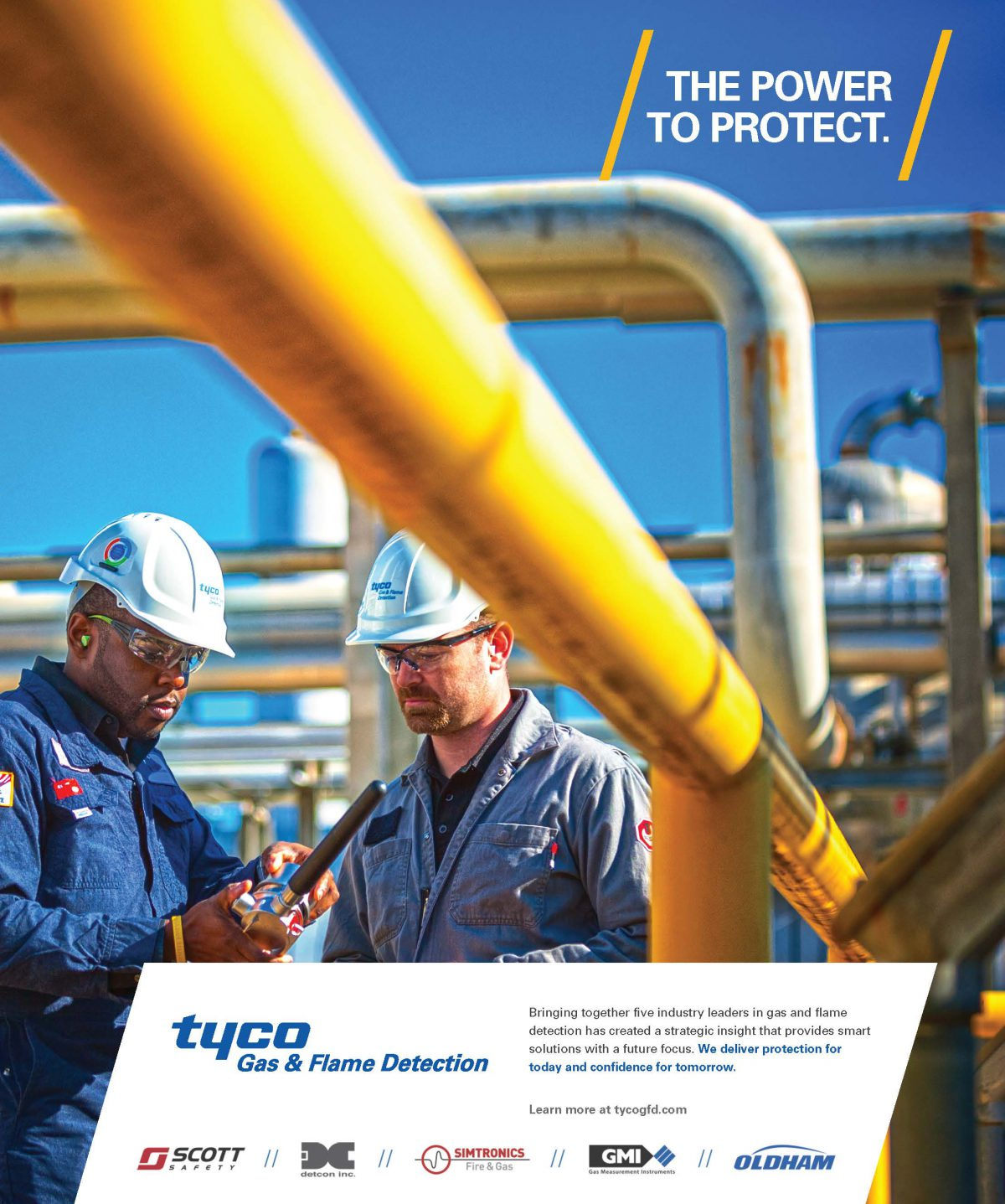 Ad for Tyco