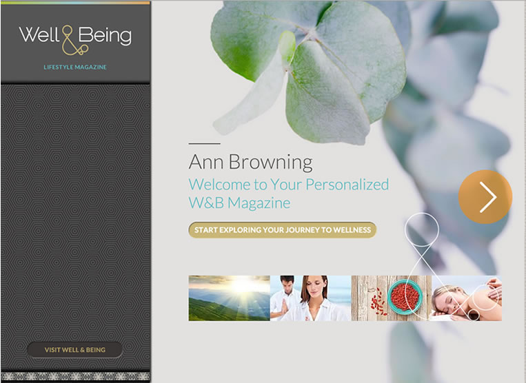 Well & Being Personalized Magazine